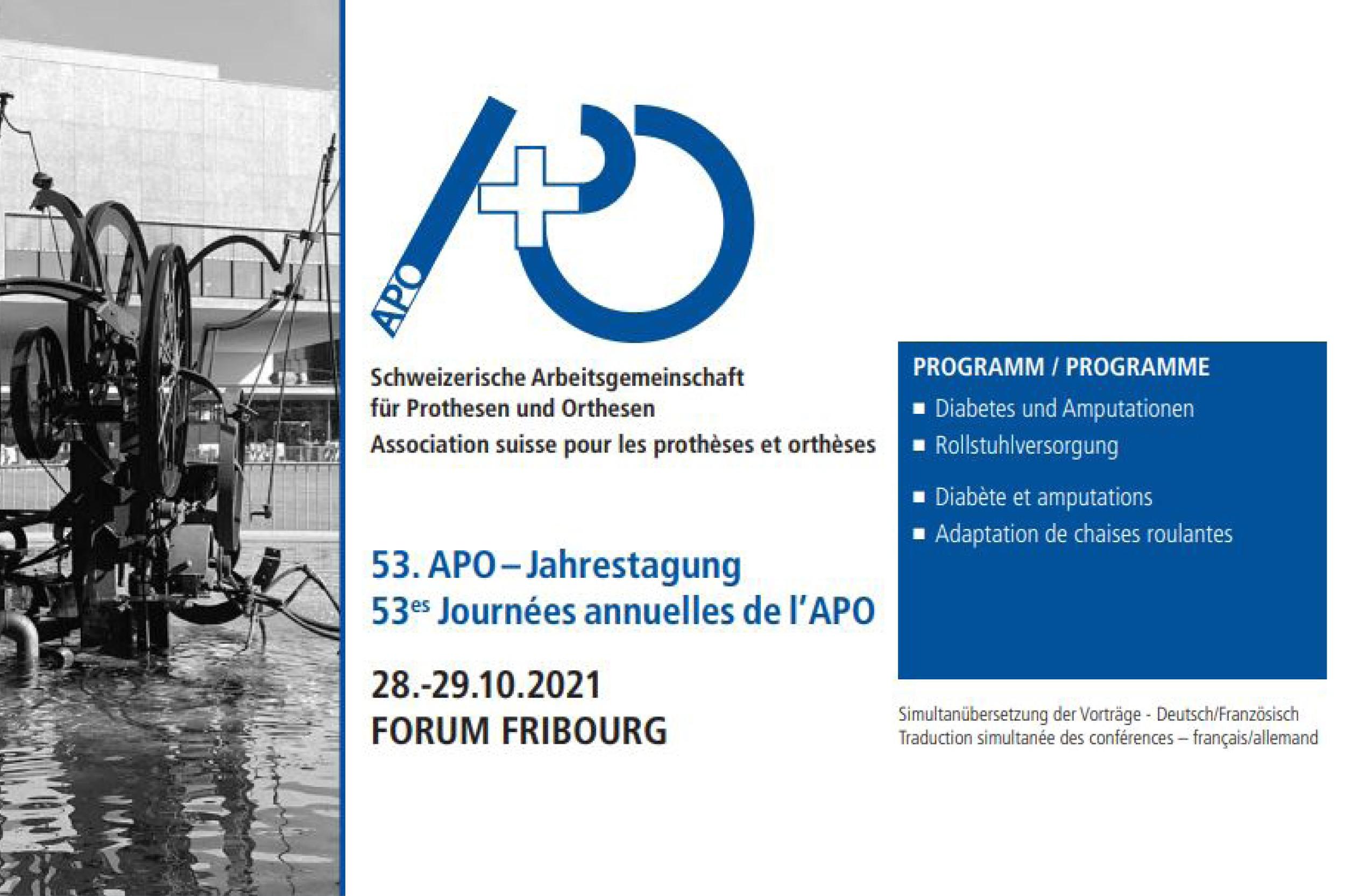 Orthoservice Ro+Ten nimmt am 53. APO-Jahrestagung am 28. und 29. Oktober teil