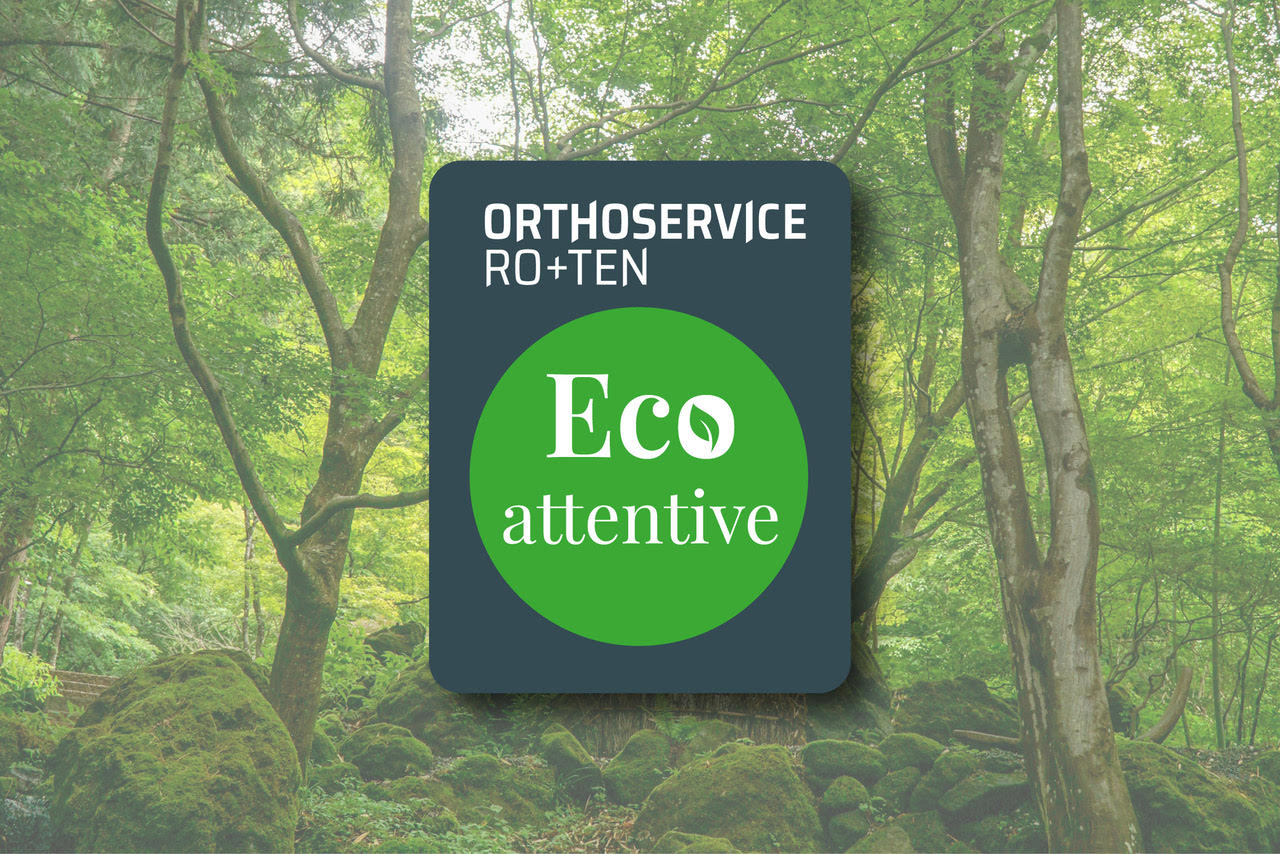 Eco Attentive: the new icon for Orthoservice Ro+Ten packaging