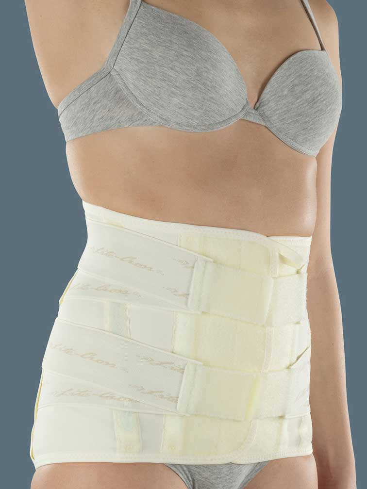 LITECROSS91 - High elastic orthosis with a  thermoformable pad