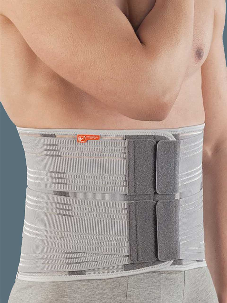 LumboSkill72 - High elastic lumbar orthosis with a  thermoformable pad