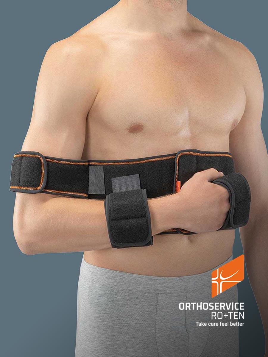 Brace for shoulder immobilization
