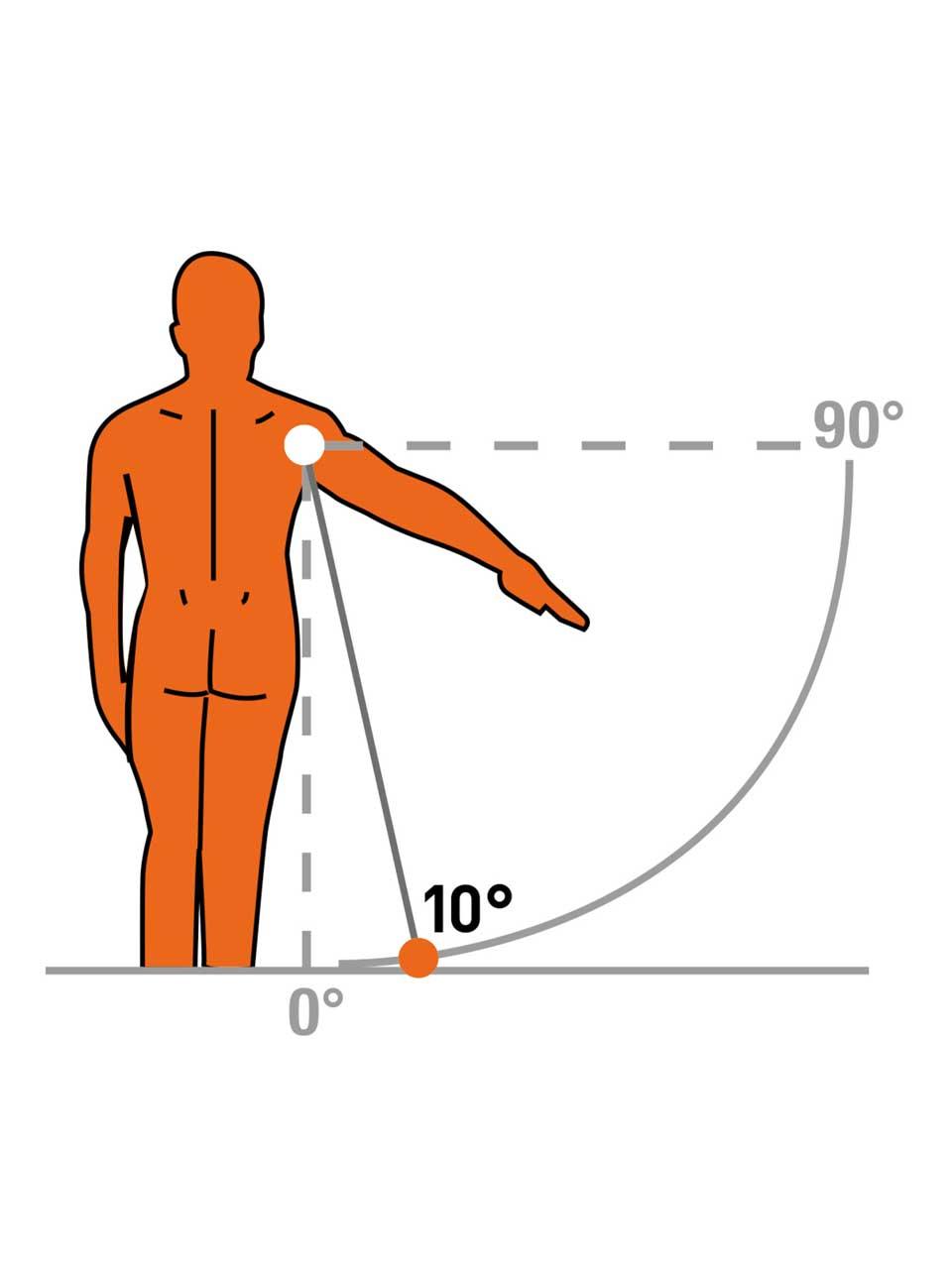TOP III-S 10° - Shoulder brace