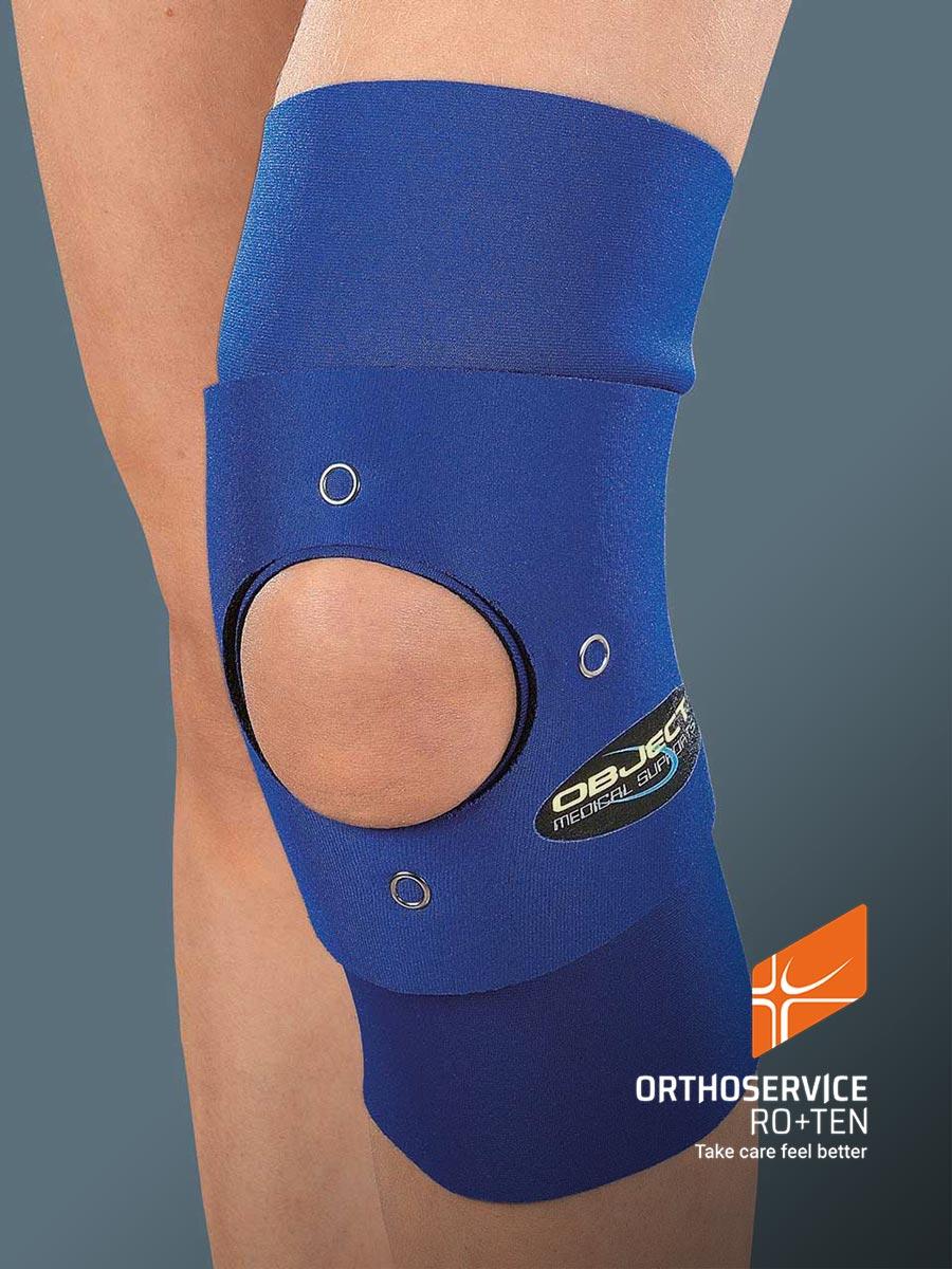 OBJECT - Neoprene tubular knee brace
