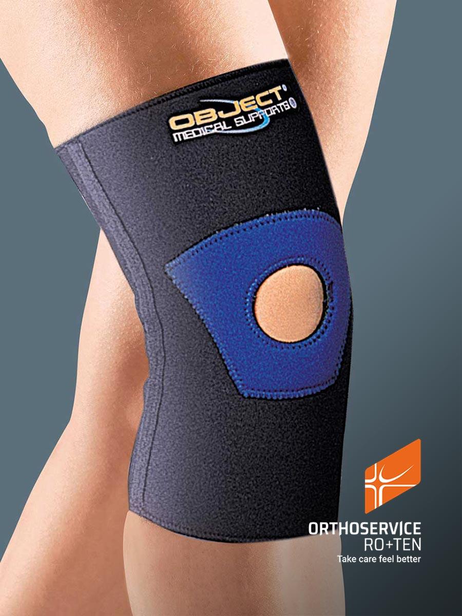 OBJECT - Neoprene short tubular knee support