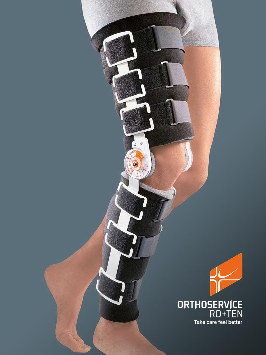 GO UP - Knieorthese für postoperative stufenweise Bewegungslimitierung