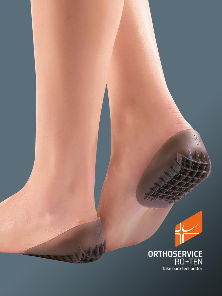 TALUFIT 52 - Shock absorber heel cups, reinforced